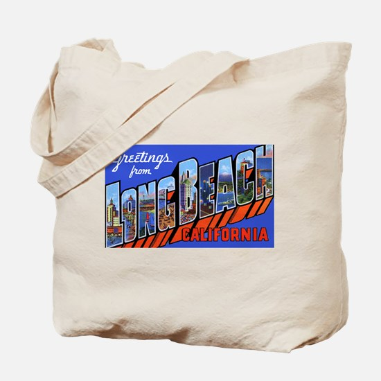 Long Beach California Tote Bag
