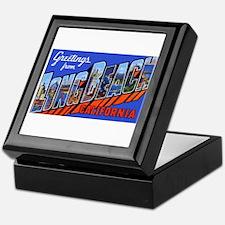 Long Beach California Keepsake Box