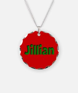 Jillian Red and Green Necklace