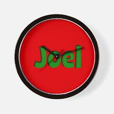 Joel Red and Green Wall Clock