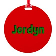 Jordyn Red and Green Ornament