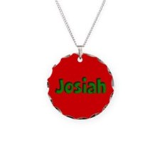 Josiah Red and Green Necklace
