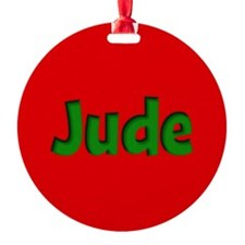 Jude Red and Green Ornament