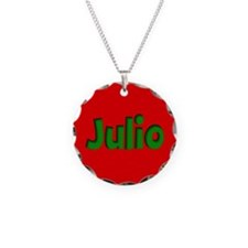 Julio Red and Green Necklace