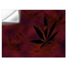 Weed Salute Wall Decal