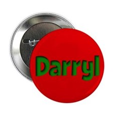 "Darryl Red and Green 2.25"" Button"