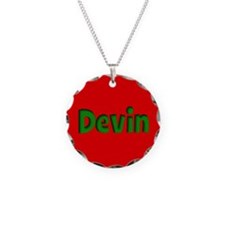 Devin Red and Green Necklace
