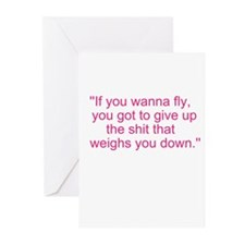 If you wanna fly.... Greeting Cards (Pk of 20)