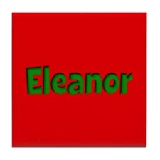 Eleanor Red and Green Tile Coaster