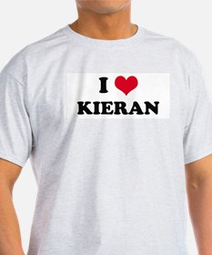I HEART KIERAN Ash Grey T-Shirt
