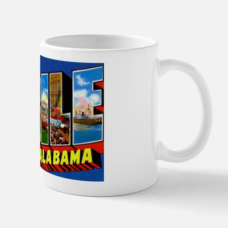 Mobile Alabama Greetings Mug