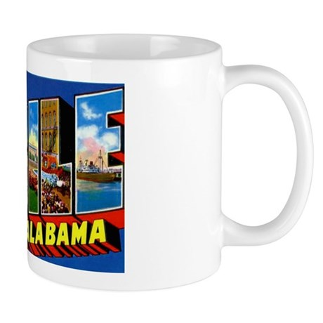 Start your day off right! Sip from one of our many Mobile Alabama coffee mugs, travel mugs and tea cups offered on Zazzle. Get it while it's hot!