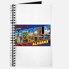 Mobile Alabama Greetings Journal