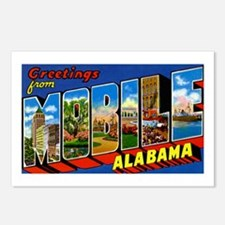 Mobile Alabama Greetings Postcards (Package of 8)