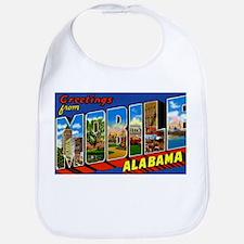 Mobile Alabama Greetings Bib