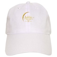 Moon Breaking Dawn dated I was There Baseball Cap