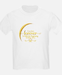 Moon Breaking Dawn dated I was There T-Shirt