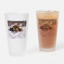 Ewes Very Fluffy! Drinking Glass
