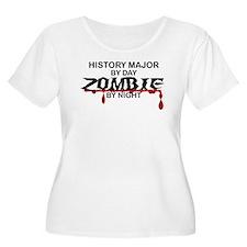 History Major Zombie T-Shirt