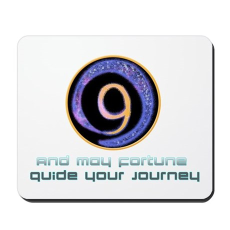 May fortune guide your journey Mousepad