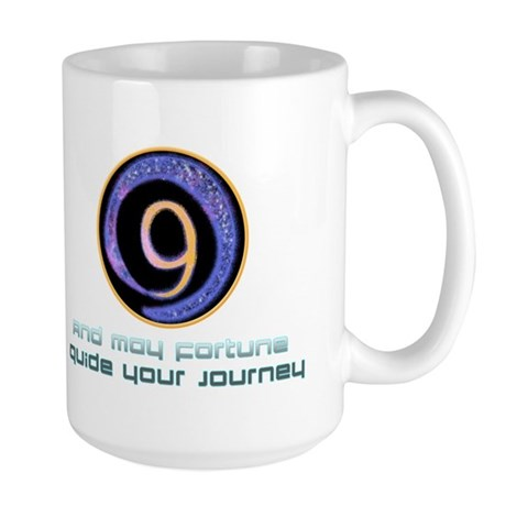 May fortune guide your journey Large Mug