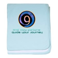 May fortune guide your journey baby blanket