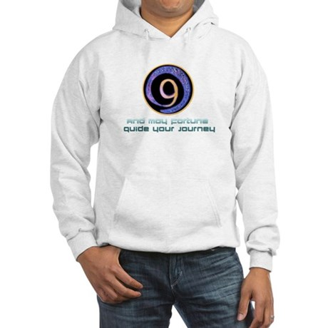 May fortune guide your journey Hooded Sweatshirt