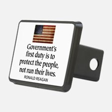 Governments first duty Hitch Cover