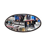 Obama Wins 2012 Newspaper Patches