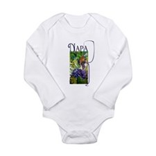 Napa Cabernet Long Sleeve Infant Bodysuit