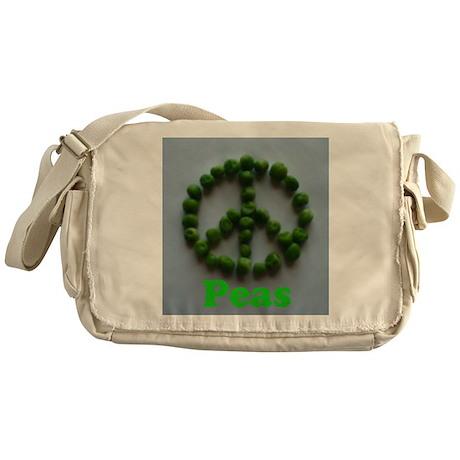 Peas (Peace) Messenger Bag