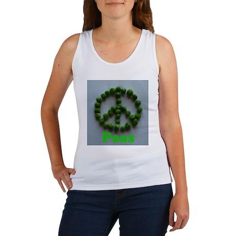 Peas (Peace) Women's Tank Top