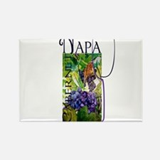Napa Cabernet Rectangle Magnet