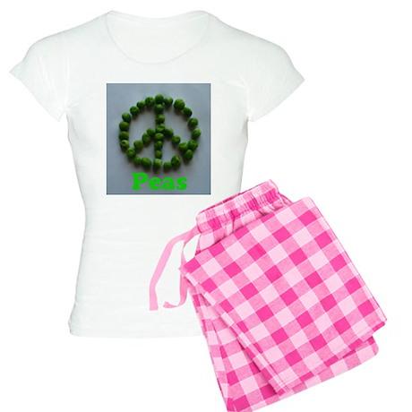 Peas (Peace) Women's Light Pajamas