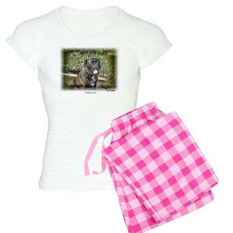 Bullmastiff Art Women's Light Pajamas