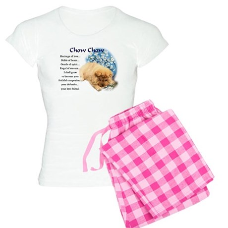 chow chow heritage puppy 3.png Women's Light Pajam