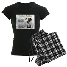 English Bulldog Pajamas