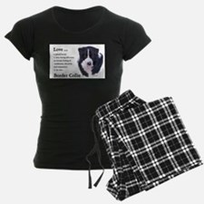 Border Collie Love Is Pajamas