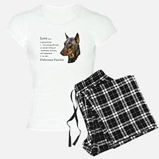 Doberman Pinscher Gifts Pajamas
