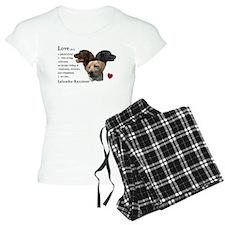 Labrador Retriever Love Pajamas