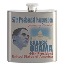 57th Presidential Inauguration Flask