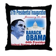 57th Presidential Inauguration Throw Pillow