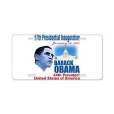57th Presidential Inauguration Aluminum License Pl