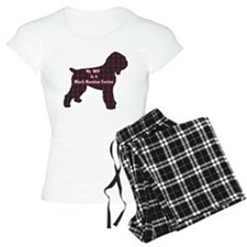 BFF Black Russian Terrier pajamas