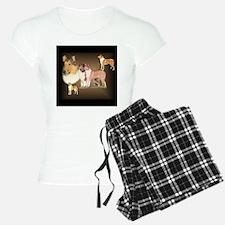 Collie_Collage Pajamas