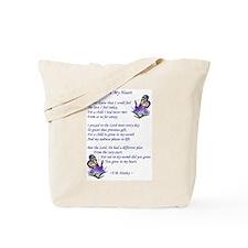 Adoption Poetry Tote Bag
