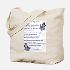 Adoption Poetry Tote Bag