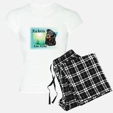 Rottie_Makes my day Pajamas