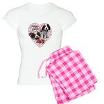 Cavalier Puppy Love Women's Light Pajamas