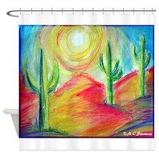 Desert, Southwest art! Shower Curtain